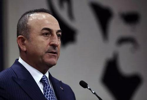Ngoại trưởng Mevlut Cavusoglu. (Ảnh: AP)