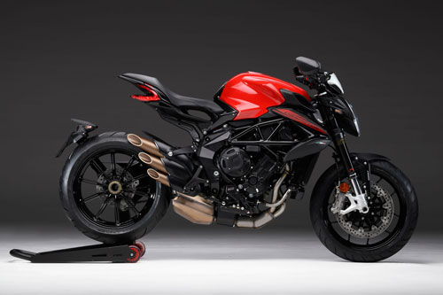 4. MV Agusta Dragster 800 Rosso 2020.