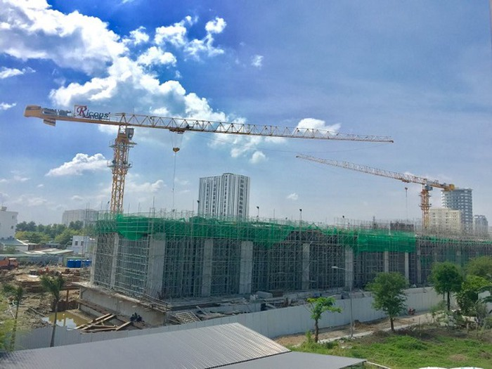 Nhiều dự án ở TP.HCM chậm triển khai vì vướng chính sách. (Ảnh: ĐL)