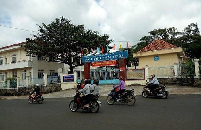 Trường THCS Nguyễn Văn Trỗi, nơi cô giáo Phạm Thị Hiền đang công tác.