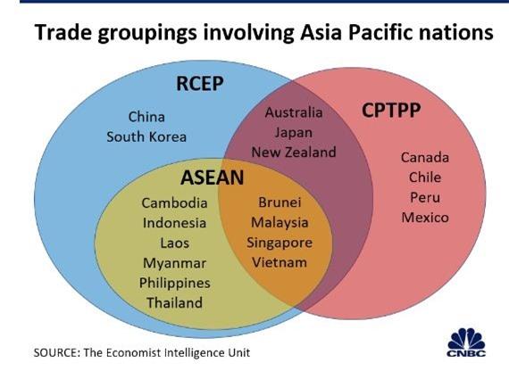nhóm thương mại liên quan đến các quốc gia châu Á Thái Bình Dương