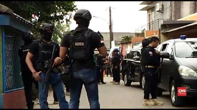 Lực lượng đặc nhiệm chống khủng bố Densus 88 của Indonesia. (Nguồn: Cnnindonesia)