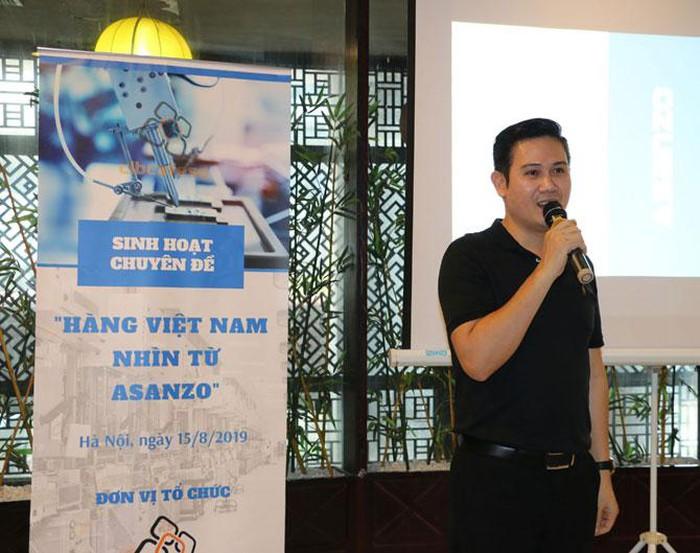 CEO Asanzo Phạm Văn Tam. Ảnh Đỗ Quyên
