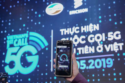 Viettel là nhà mạng đầu tiên thử nghiệm cuộc gọi 5G.
