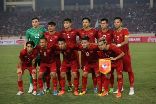 ĐT Việt Nam đang tràn trề cơ hội giành vé đi tiếp (Ảnh: Văn Hải)