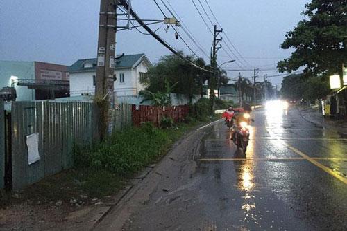 Dù ở vị trí mặt tiền được Tô Ngọc Vân (quận 12, TPHCM) nhưng 4 thửa đất của ông Bùi Mạnh Hải lại được nộp tiền sử dụng đất theo giá... trong hẻm (ảnh TM)