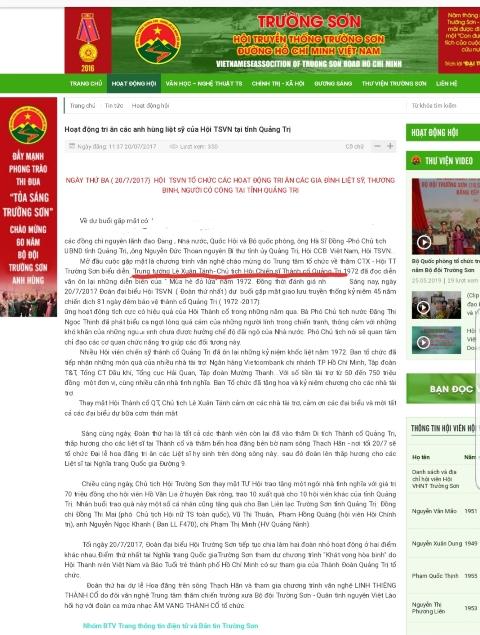 Nhiều tổ chức nhầm lẫn ông Lê Xuân Tánh là trung tướng.