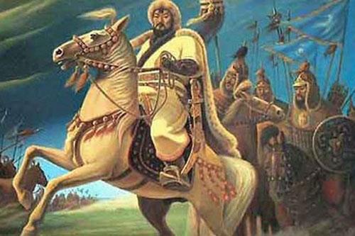 Thành Cát Tư Hãn của Mông Cổ là nhà quân sự đại tài với việc chinh phục được nhiều vùng đất rộng lớn và trù phú.