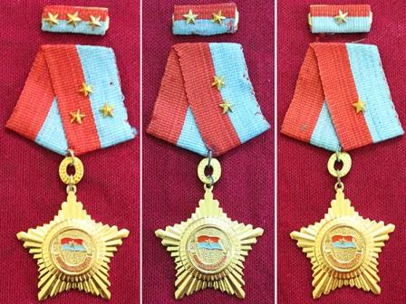 Huân chương Quân công giải phóng dành tặng thưởng cho các chiến sĩ lập chiến công xuất sắc.