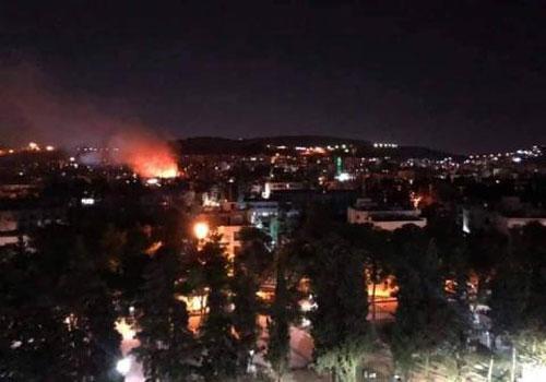 Israel bất ngờ tấn công, Syria trả giá vì đánh chặn trượt?