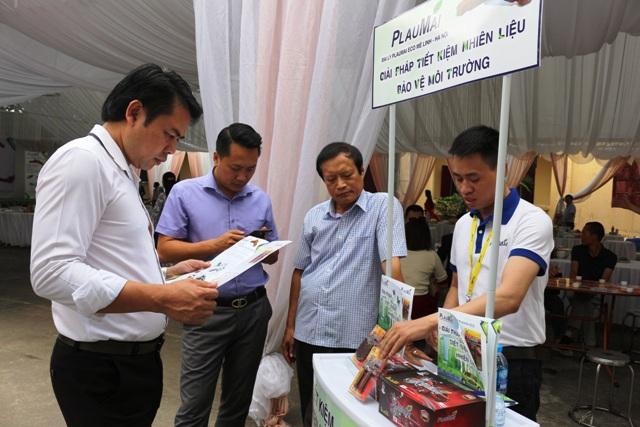 Khai trương đại lý sản phẩm thanh gốm tiết kiệm nhiên liệu PlauMai Eco