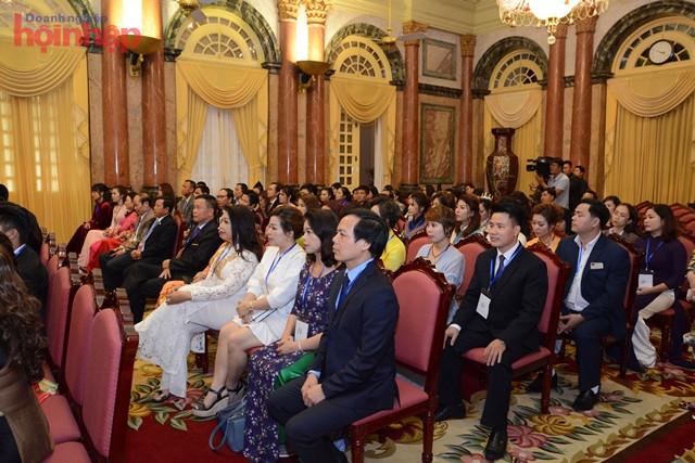 Representatives of small and medium enterprises in 2018. Photo: Nguyen Cuong.