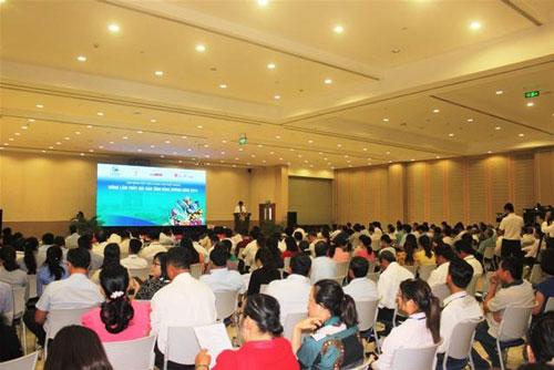 200 doanh nghiệp, hợp tác xã tham dự hội nghị kết nối cung cầu mặt hàng nông lâm thủy sản tỉnh Bình Dương năm 2019.