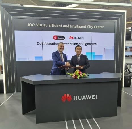 Barcelona và Huawei ký thỏa thuận hợp tác phát triển các dự án công nghệ