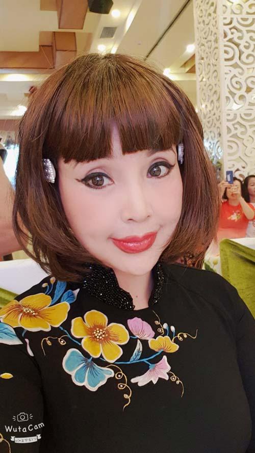 Hình ảnh gây tranh cãi của NSND Lan Hương.