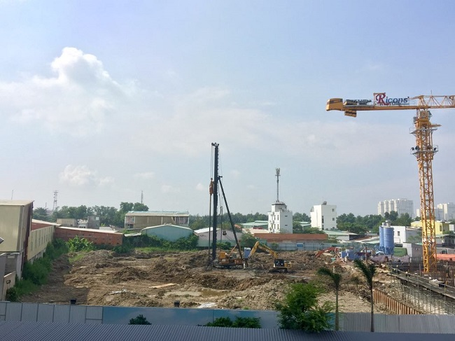 Tính đến ngày 18/10, dự án Sky 89 chưa có dấu hiệu thi công, vẫn đang là bãi đất trống (ảnh DL).