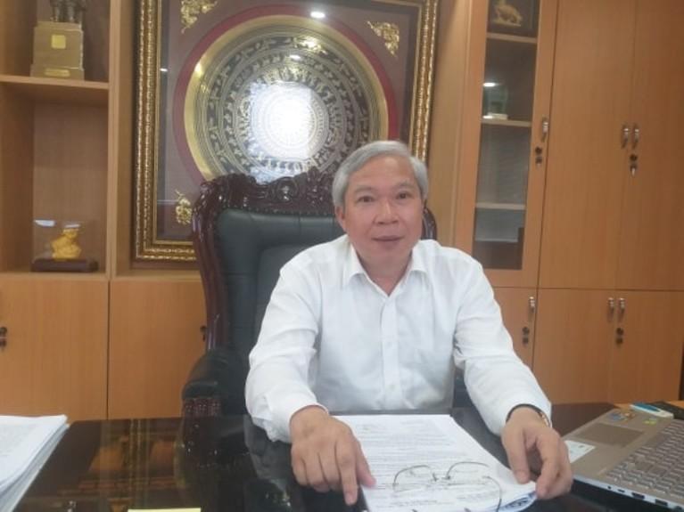 Ông Mai Tuấn Anh- Chủ tịch HĐTV VEC (Ảnh: Phapluatplus)