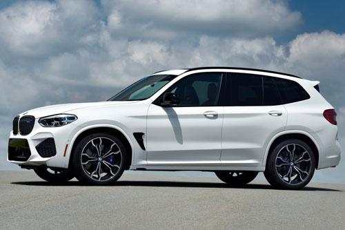 3. BMW X4 M và X3 M Competition.