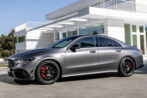 3. Mercedes-AMG CLA 45 S 4MATIC Plus Coupe 2020.