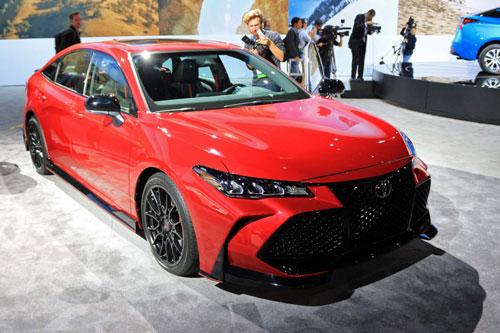 7. Toyota Avalon TRD 2020.
