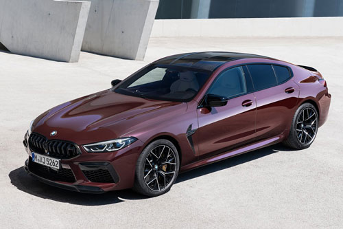 8. BMW M8 Gran Coupe Competition 2020.
