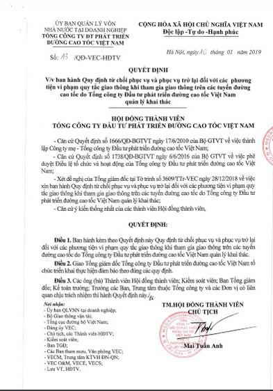 Quyết định số 13 do ông Mai Tuấn Anh ký trái luật và vi hiến