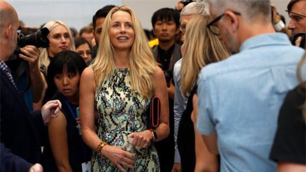 Top 7 phụ nữ giàu nhất thế giới-Laurene Power Jobs