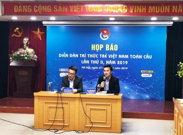 Diễn đàn Trí thức trẻ Việt Nam toàn cầu lần thứ II sẽ được tổ chức tại Hà Nội