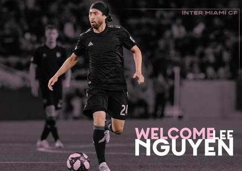 Inter Miami chào đón Lee Nguyễn. Ảnh: Internet