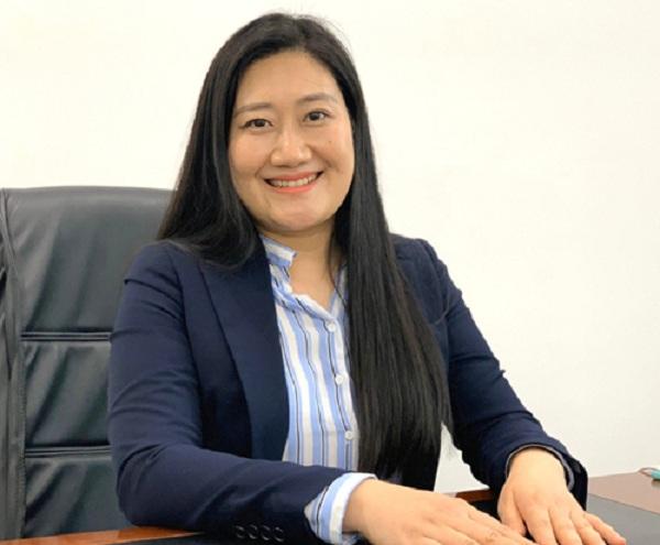Bà Hà Thị Linh - Phố tổng giám đốc NCB.