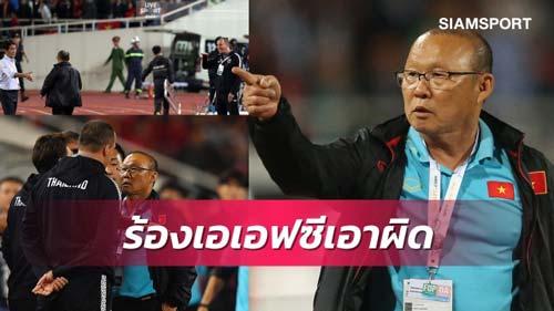 Báo Thái: 'HLV Park kiện lên AFC, trợ lý HLV Nishino nguy to'