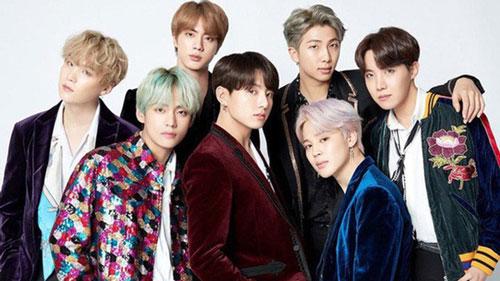 BTS là đại diện duy nhất của Hàn Quốc có mặt trong danh sách.