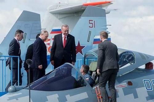 Nga ép Thổ Nhĩ Kỳ phải mua cả Su-57 thì mới đồng ý bán Su-35. Ảnh: TASS.