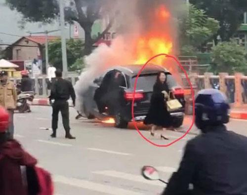 Nữ tài xế Vũ Thị Hồng Thái, người lái xe Mercedes gây ra vụ tai nạn khiến 1 người chết hôm 20/11. (Ảnh: Dân trí)
