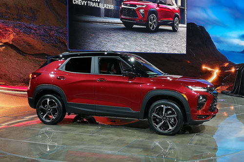 Chevrolet Trailblazer 2021.