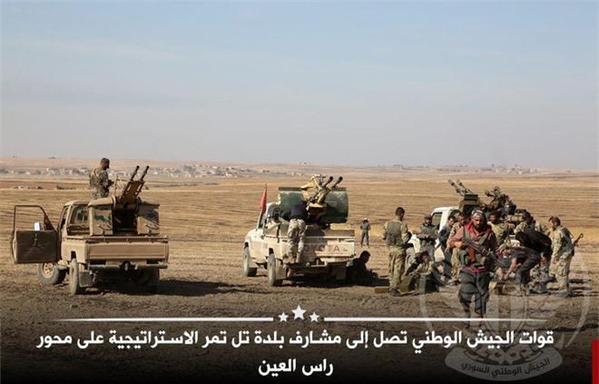 Khúc xương khó nuốt ở bắc Syria: Sultan Thổ gục ngã trước QĐ Syria và người Kurd? - Ảnh 2.