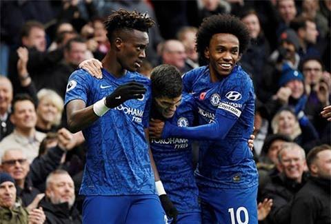 Hàng công của Chelsea rất khá nhưng không thể bằng Man City