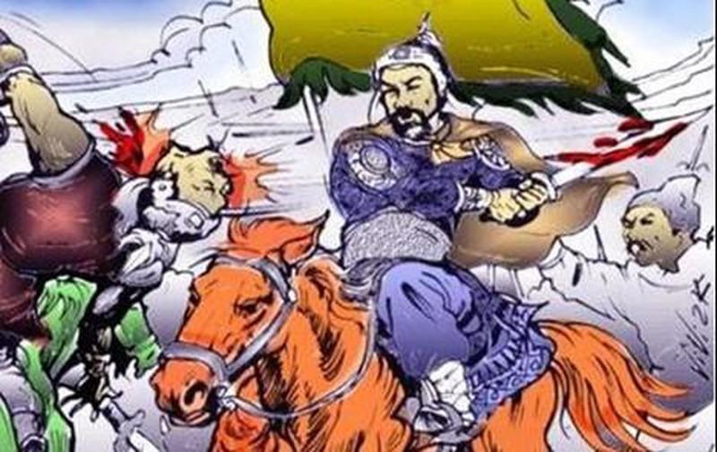 Đinh Tiên Hoàng dẹp loạn 12 sứ quân.