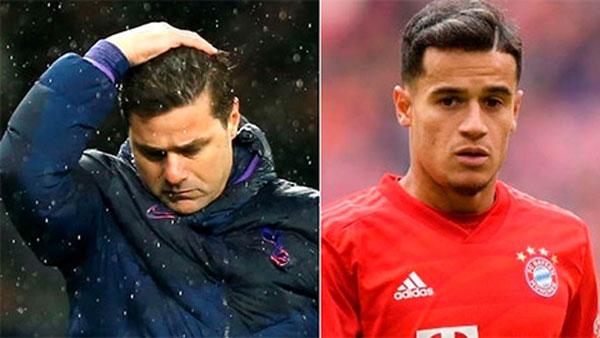 Tương lai của Coutinho ở Bayern phụ thuộc vào... HLV Pochettino