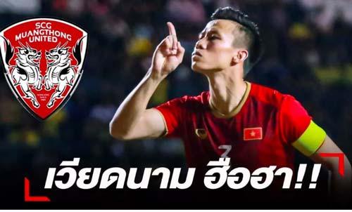 Quế Ngọc Hải sẽ chuyển sang Muangthong United thi đấu?