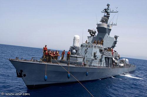Tàu tên lửa tấn công nhanh Sa'ar 4.5 (Hetz) nâng cấp của Hải quân Israel có lượng giãn nước chỉ xấp xỉ 500 tấn với chiều dài 61,7 m; chiều rộng 6,7 m nhưng trang bị của lớp chiến hạm này cực kỳ khủng khiếp.
