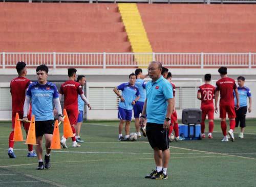 HLV Park Hang Seo đã có đầy đủ lực lượng mạnh nhất cho SEA Games 30