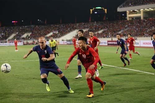 U22 Việt Nam đấu U22 Thái Lan được xem là trận 'chung kết bảng B'. Ảnh: Kiên Lê.