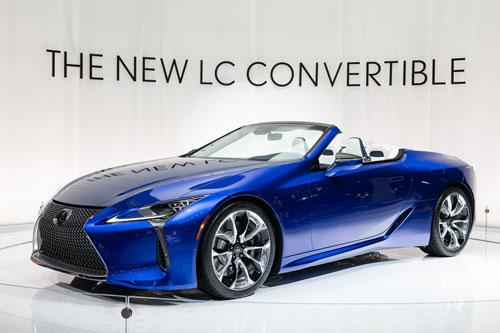 4. Lexus LC 500 Convertible 2020.