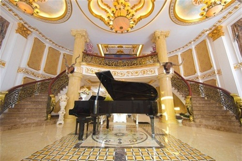 Chiêm ngưỡng lâu đài dát vàng như cung điện của Lý Nhã Kỳ - Ảnh 5