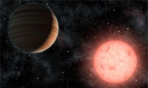 Một hành tinh quay quanh sao lùn loại M. Ảnh: NASA.