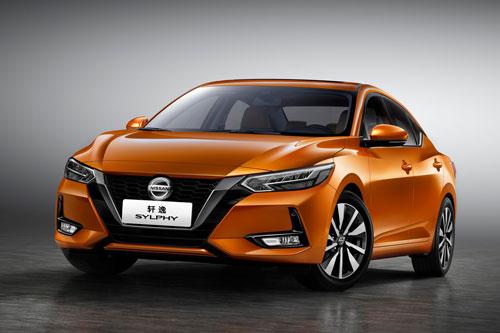 Nissan Sylphy (doanh số: 48.882 chiếc).