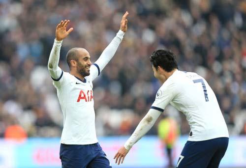 Tottenham mở màn trận đấu khá thuận lợi - Ảnh: Getty.