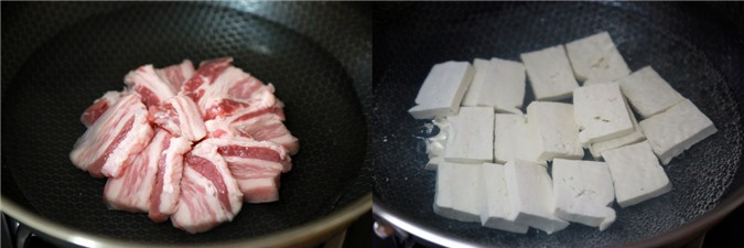 Thịt hấp đậu phụ rau cải - Ảnh 2.