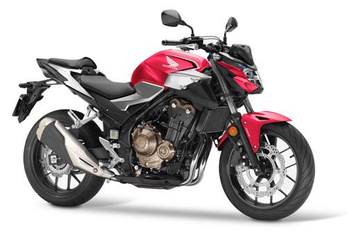 2. Honda CB500F 2020 (giá: 6.290 euro).